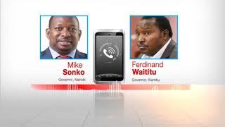 Gavana wa Nairobi Mike Mbuvi Sonko ni mtu wa sarakasi