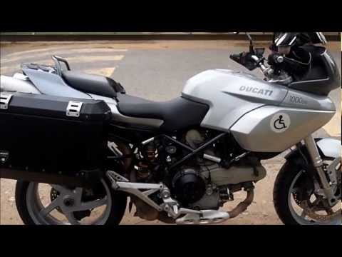 amputee rider (khairullhafiz) - ducati multistrada 1000ds and my