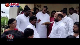 MLA,s Minister Interacting With School Students | Teenmaar News  Telugu News