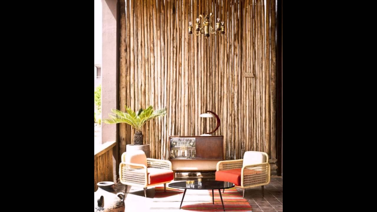 Bambus Balkon Attraktive Gestaltung Schöne Möbelstücke