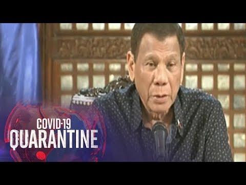 President Duterte Addresses The Nation