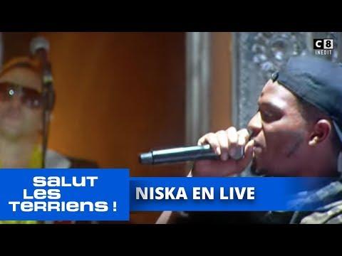 """Niska en live avec """"Réseaux"""" et """"Salé""""  - Salut Les Terriens"""