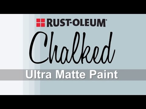 How to Video: How to Apply Rust-Oleum Chalked Paint