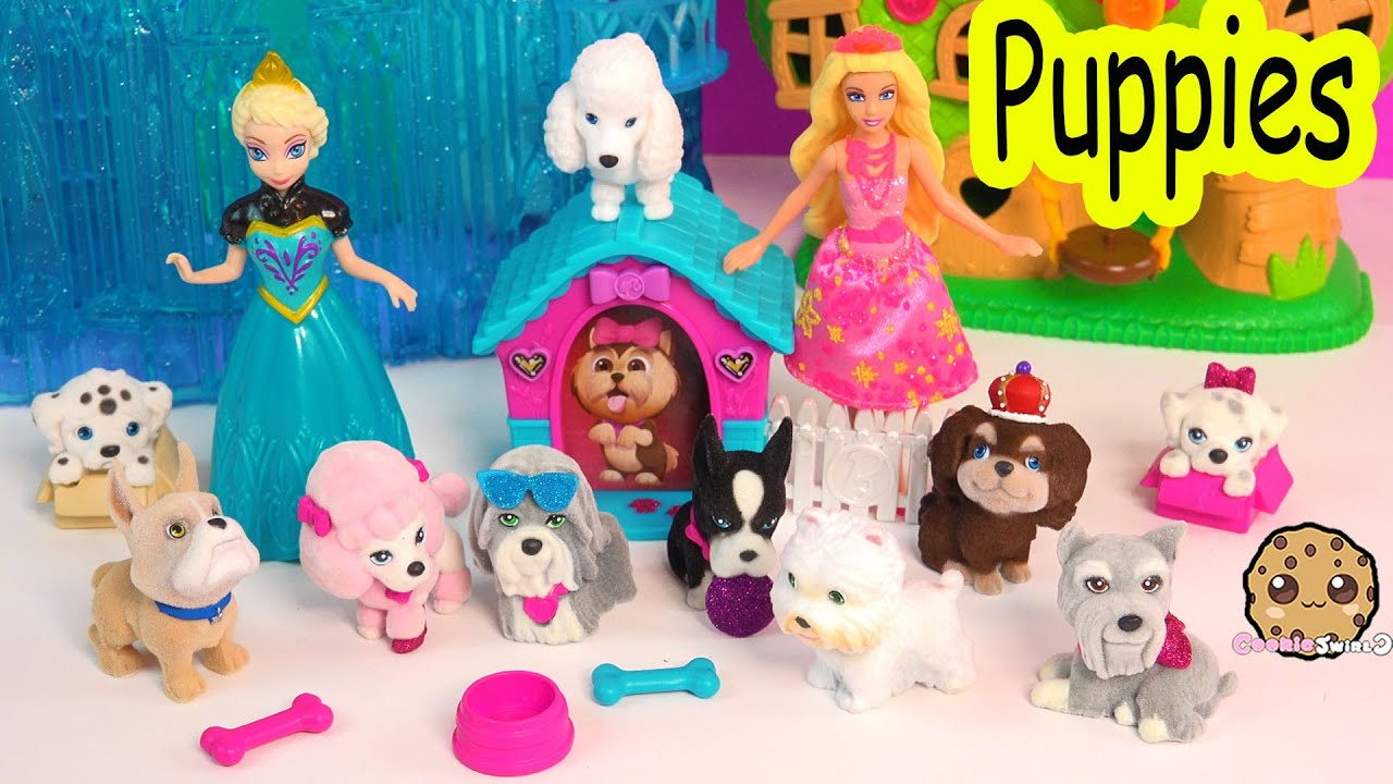 Barbie & Her Sisters in The Great Puppy Adventure Puppies in my