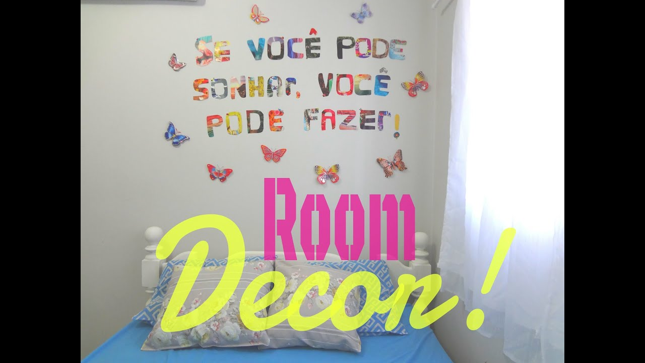 Room decor decore a parede do seu quarto com revista - Posters para decorar paredes ...