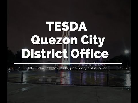TESDA Quezon City District Office Address and Phone number
