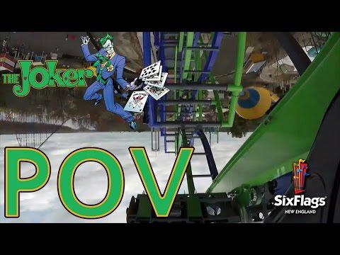 THE JOKER™ POV Video Six Flags New England