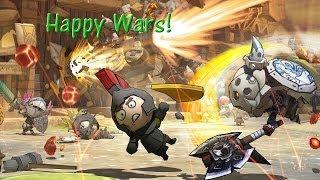 Happy Wars- Berserker Warrior Gameplay