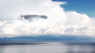UFO mothership over the SEA in AUSTRALIA !!! April 2018