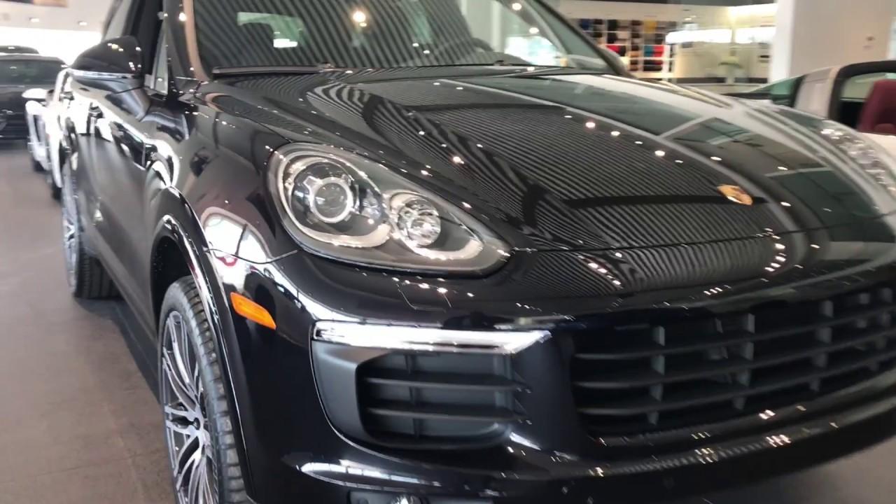 Porsche Cayenne A Vendre >> Porsche Cayenne Platinum Edition 2018 A Vendre