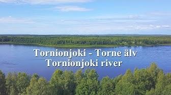 Tornionjoki Torne älv Tornionjoki river