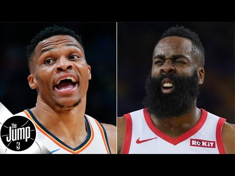 James Harden has to pass the torch to Russell Westbrook this season - Scottie Pippen | The Jump