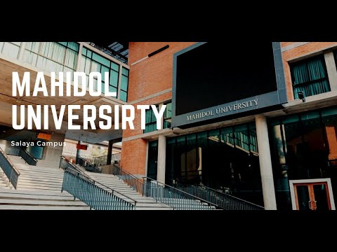 Campus tour Mahidol University - Indonesian Student Life (Kuliah di Thailand  Part.1)