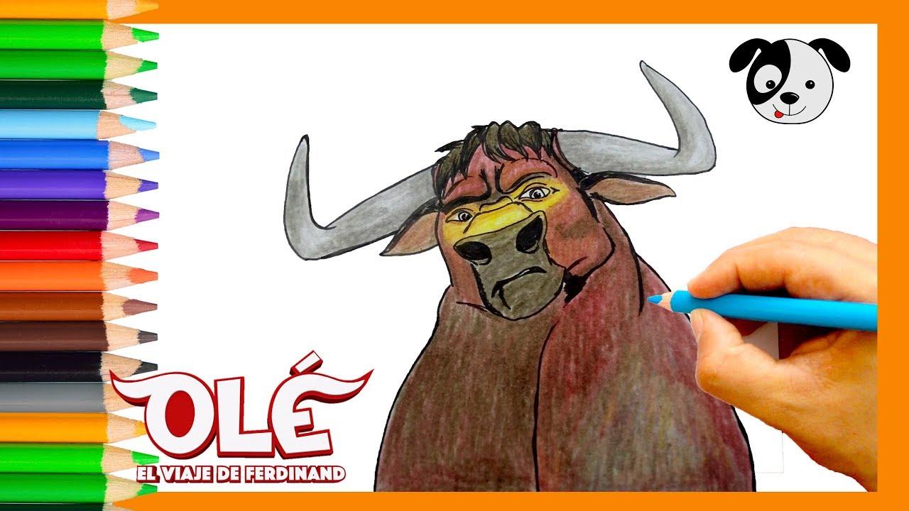 Cómo dibujar a Valiente (NUEVA PELÍCULA OLÉ)-Dibujos para niños-How ...