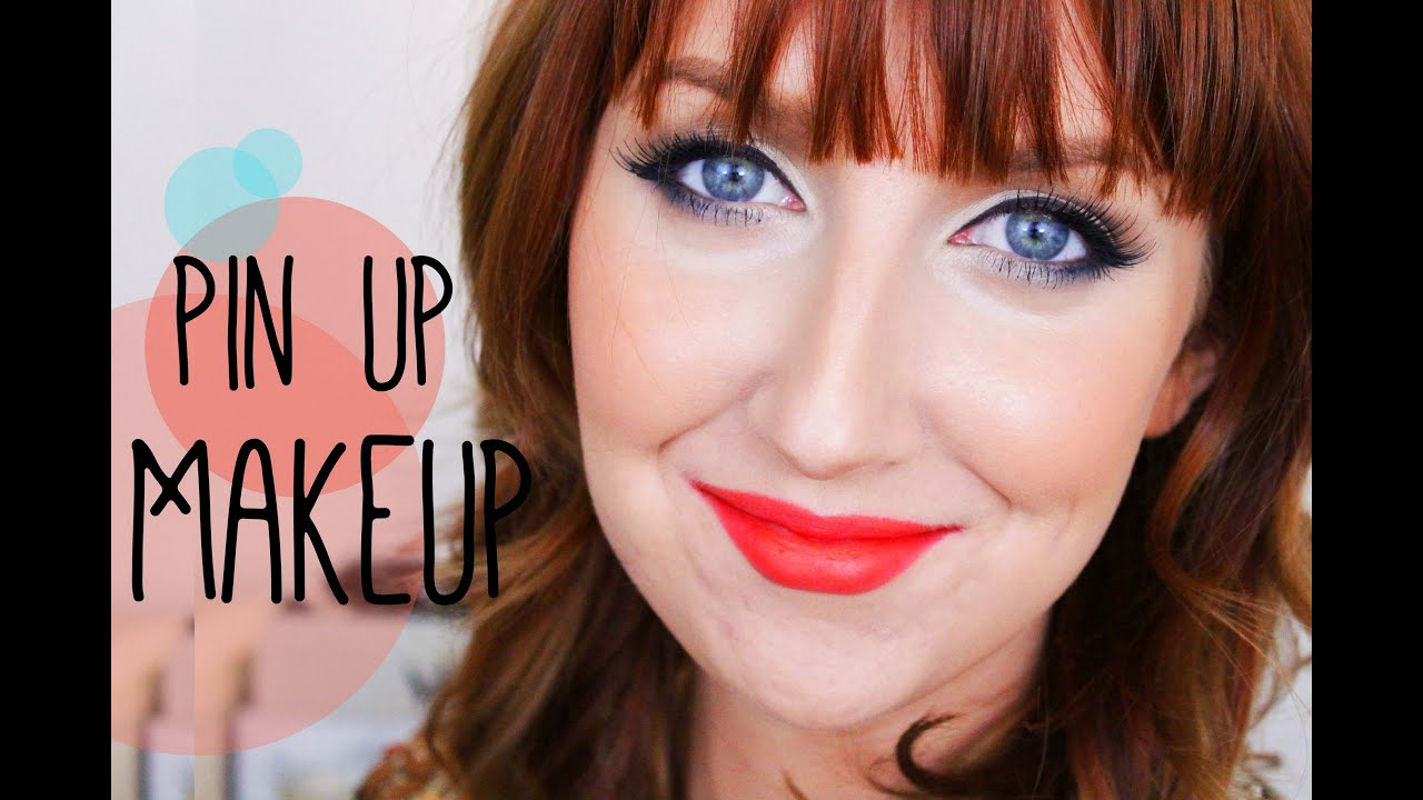 fresh and modern pin up makeup tutorial youtube