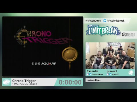 Chrono Trigger (100%) by Essentia and puwexil & RPGLB Finale (RPG Limit Break 2015 Part 34)