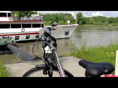 River Danube Impressions by bike + boat