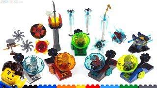 All LEGO Ninjago Spinjitzu Slam sets reviewed! 70681 70682 70683 70684