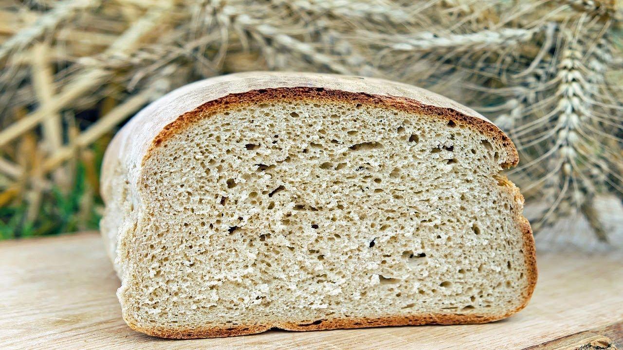 как приготовить бездрожжевую закваску для выпечки хлеба