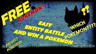 GET FREE POKEMON(BY FIGHTING ENTITY) ROBLOX:PROJECT POKEMON