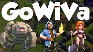 Clash Of Clans\Ataque De Gowiva Na Guerra