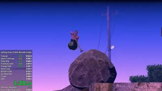 Getting Over It with Bennett Foddy - 3m 13s Speedrun