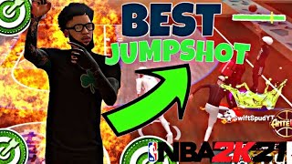 BEST JUMPSHOT IN NBA 2K21 AFTER PATCH 4! NEVER MISS AGAIN | BIGGEST GREEN WINDOW | BEST JUMPSHOT!