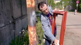 Колхозный ремонт оконной рамы (3 серия)