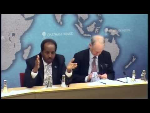 Building a Stable Somalia --Q and A with President Hassan Sheikh Mohamud on YouTube