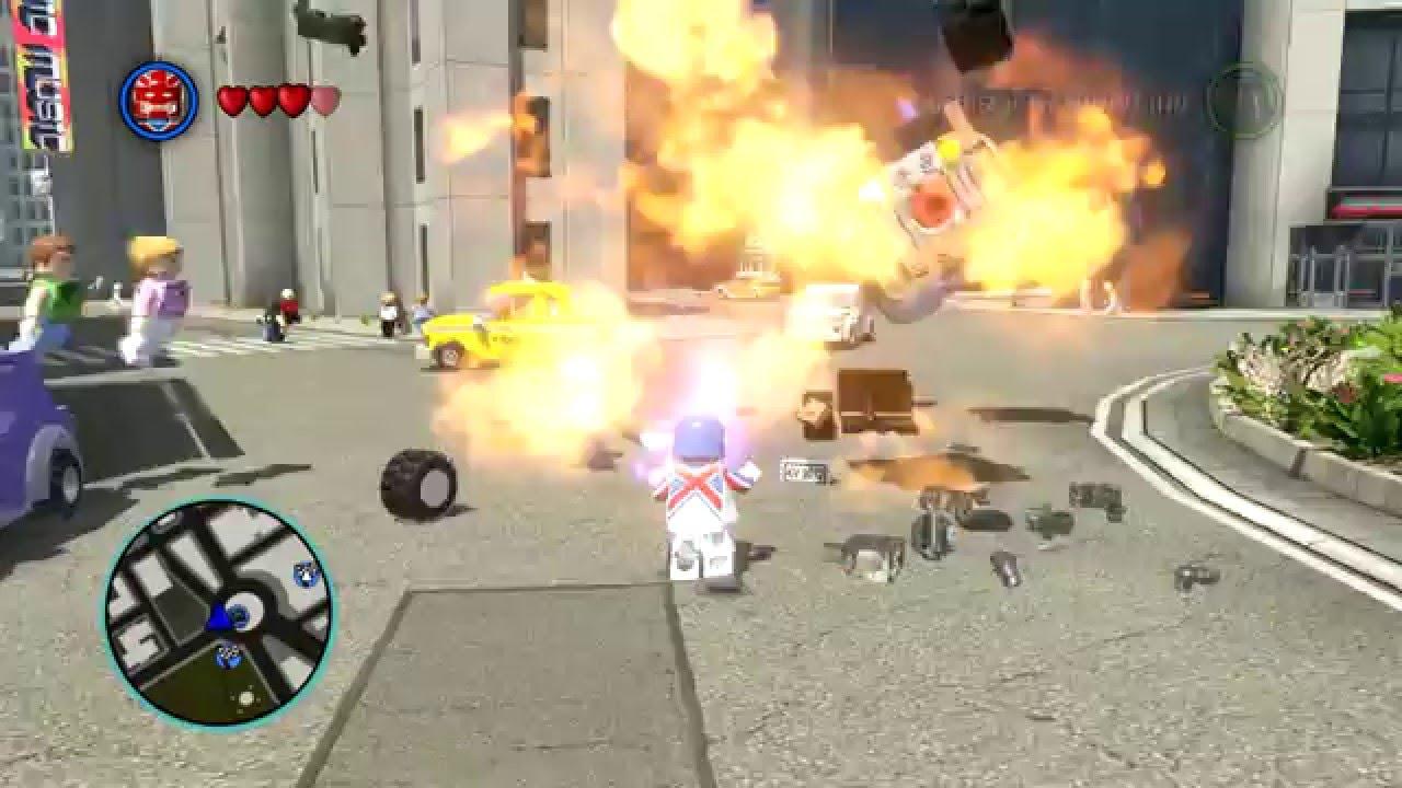LEGO MARVEL Super Heroes - Captain Britain Kills Emma ...