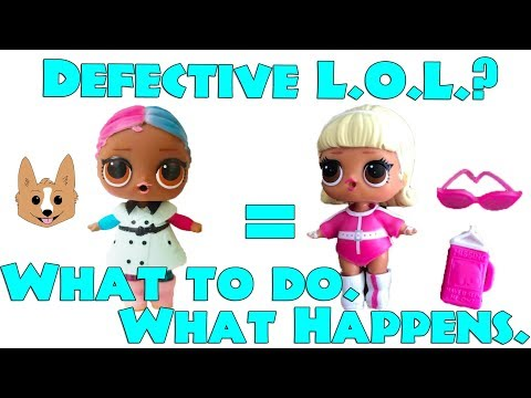 How to Replace Defective or Missing Accessory LOL Surprise Dolls  -  MGA Entertainment Warranty