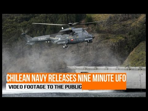 Chilean Navy Releases UFO Video Footage To The Public