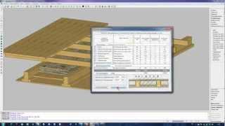 Расчёт балок междуэтажного перекрытия(Видео пример о том, как в реальном проекте я произвожу проектирование и расчёт междуэтажного перекрытия..., 2012-10-27T12:21:00.000Z)