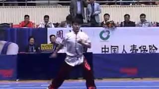 2012年全国武术套路锦标赛 男子长拳  016 张丰(北京)