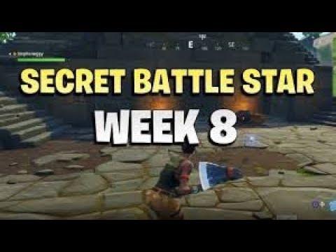 Secret Battle Star Week 8, Blockbuster #8 (Fortnite Battle Royal Season 5)