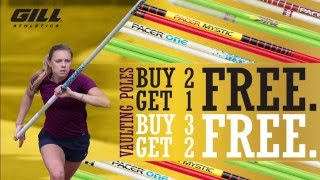 VS Athletics- FREE GILL VAULTING POLES (CA and TX ONLY)