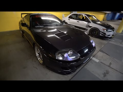 EVO OWNER EXPERIENCES THE BLACK WIDOW SUPRA!