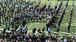 Ohio University Marching 110 & 110 Alumni Band - Stand Up and Cheer - Homecoming 2010