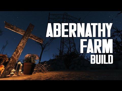 Abernathy Farm Efficiency Build - Fallout 4 Settlements