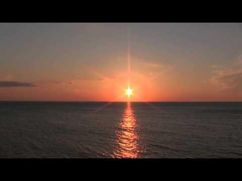 Shakotan Peninsula of sunset: Landscape Video (BGV)