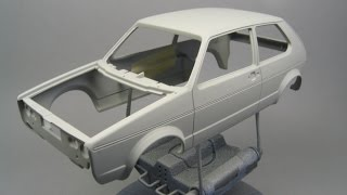 How To Prepare the body of your scale model before paint