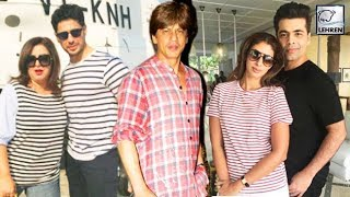 Full List Of Celebrities At Shah Rukh Khan's Private Birthday Party 2017 | LehrenTV