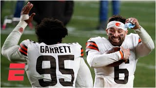 'NONE OF US saw that happening' - Keyshawn reacts to the Browns' win vs. the Steelers | KJZ