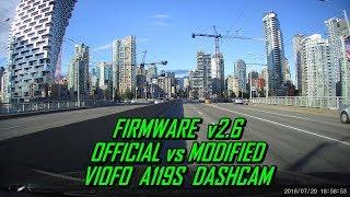 A119S Firmware v2.6 Sharpness VIOFO Dash Cam