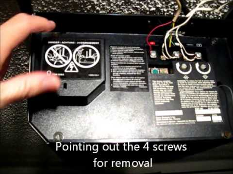 Sears Garage Door Opener Lubrication  YouTube