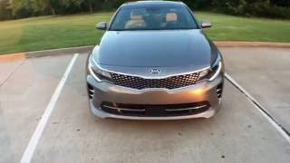 Kia Optima in-depth review. Lots of luxury/value, with side of sport. 2016 / 2017 comparison.