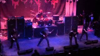 Cannibal Corpse - The Wretched Spawn & Pounded into Dust live