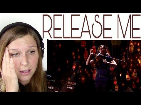 MANDY HARVEY - RELEASE ME ( SEMI FINALS) | REACTION