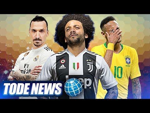MARCELO pede para SAIR do Real Madrid, Presidente do Barça NÃO quer NEYMAR, Real quer IBRA ! thumbnail