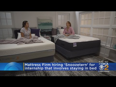 Rich Lauber - Summer Internship For This Mattress Company Requires Sleeping On The Job!